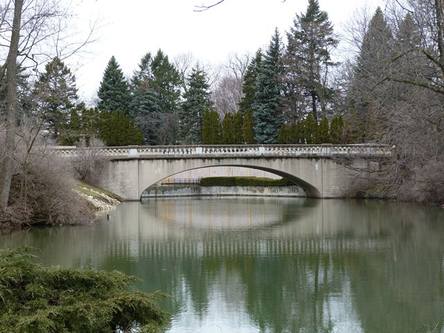 Mound Cemetery Bridge